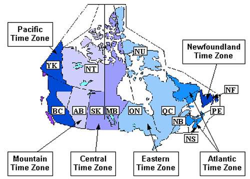 montreal time zone